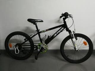 bicicleta niño 20 pulgadas negra