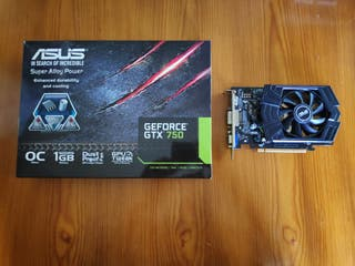 Tarjeta Gráfica Nvidia Geforce GTX 750 (OC)