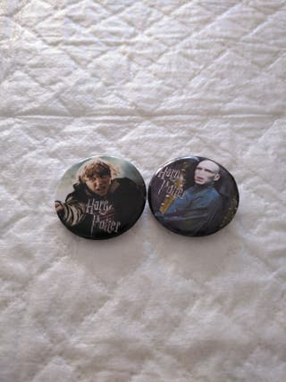 harry potter pins aguja chapas