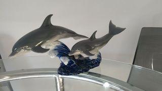 Figura delfines lladro