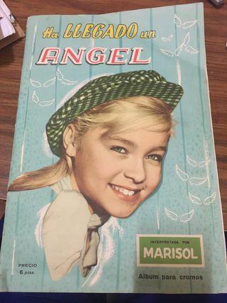 Álbum de cromos de Marisol