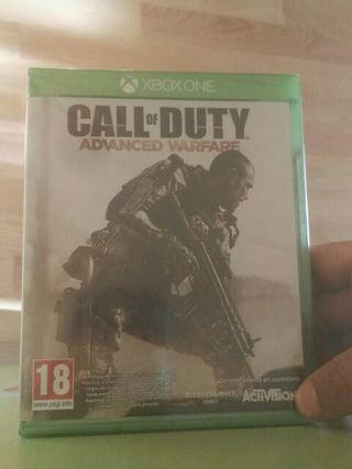Juego de xbox one call of duty advanced warfare