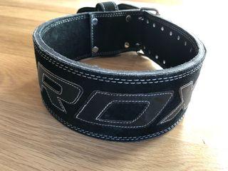 """Cinturón pesas RDX de 4"""" - talla M (76-88cm)"""