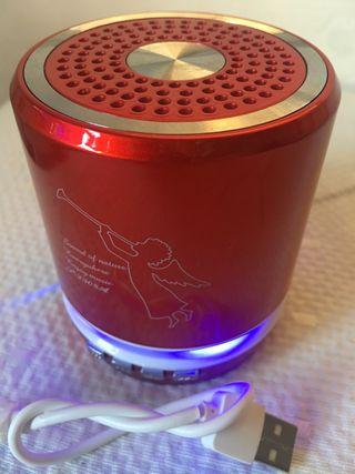 Mini altavoz Bluetooth LED t2308