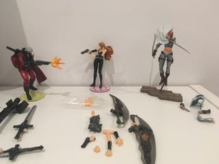 Kaiyodo Takara DEVIL MAY CRY 2 lote 3 figuras