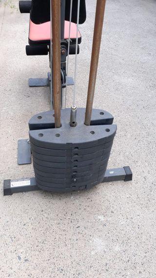 máquina de pesas