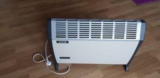 Calefactor con temporizador
