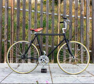 Bicicleta clásica retro