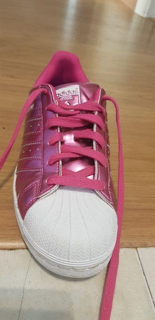 Adidas superstar rosa N39/5