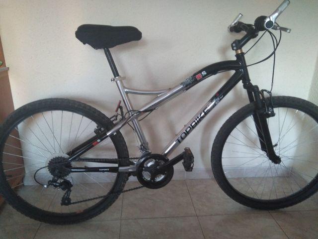 bicicleta de montaña,de aluminio