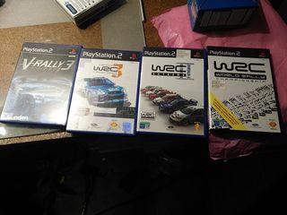 juegos PS2 wrc