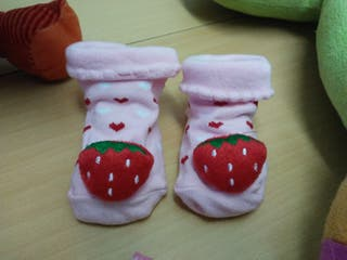 calcetines nuevos 0-12 meses antideslizante