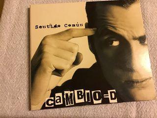 CAMBIO -D. CD SENTIDO COMUN