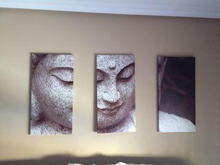 Tríptico Buda