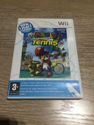 Mario Power Tennis Nintendo Wii WII PAL ESPAÑA