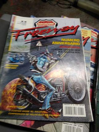 vendo revistas moto freeway