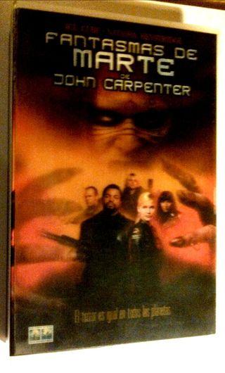 Fantasmas de Marte -Edición portada 3D- VHS