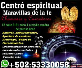 centró Espiritual Maravillas de la fe)..