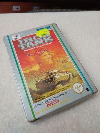 Iron Tank. Nintendo NES. Snk
