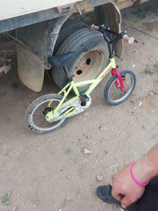 bicicleta de niño decathlon
