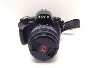 Camara digital reflex sony alpha dslr 1