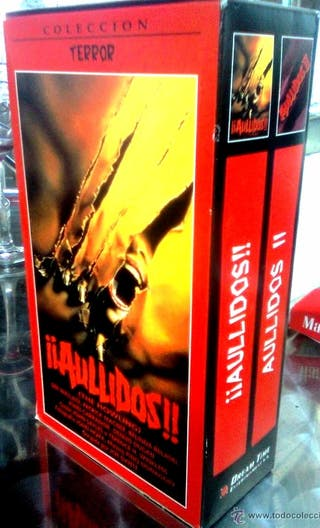The Howling -Aullidos- 1/2 Pack VHS