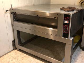 Horno de suela para panadería o pizzer