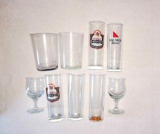 lote de copas y vasos