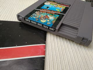 Mario Duck Hunt. Nintendo Nes