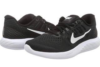 Zapatillas Nike Lunarglide 39 USA 8 negro usado