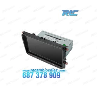 RADIO GPS Android 8.1 Seat VW Skoda LCD Táctil 9""