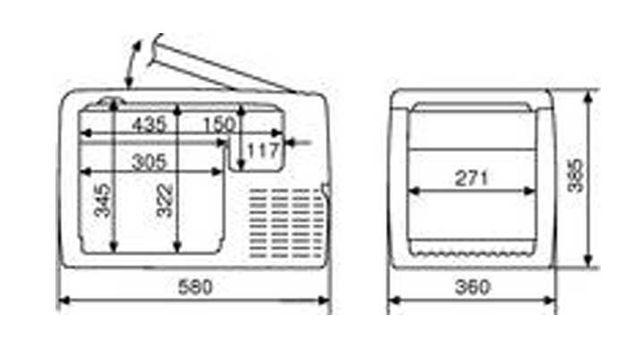 Nevera Compresor CoolFreeze CF-35 WaecO