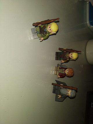Figuras lego el Hobbit y el señor de los anillos