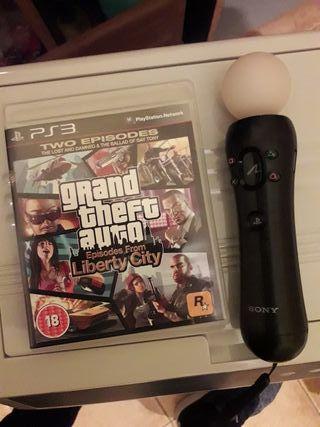 GTA y mando