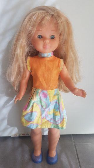 Vestido para muñeca Nancy Pepa o Kika naranja