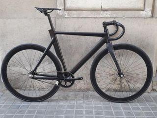 Bicicleta Fixie Derail Carbon Nueva