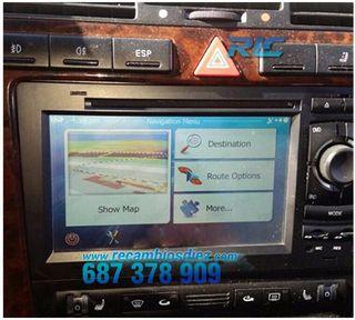 Radio Navegador GPS DVD 7 Android 7,1 para Audi A