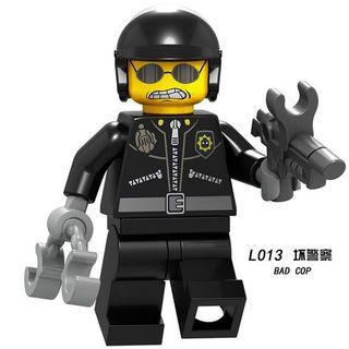 Bad cop Lego City Figures Compatible