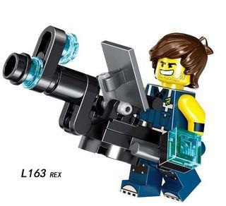Rex Lego City Figures Compatible