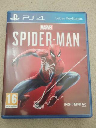 Spiderman PS4 perfecto estado