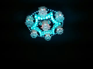 lampara cristal