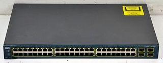 Switch CISCO Catalyst C3560 48/4 SFP muy poco uso