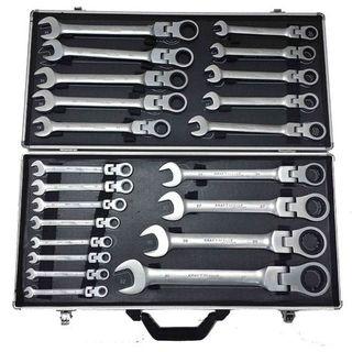 Maletín herramientas cromo-Vanadio 22pzs llaves fi