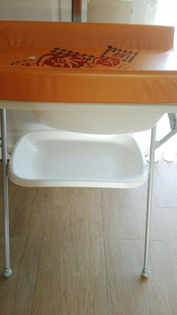 Bañera cambiador
