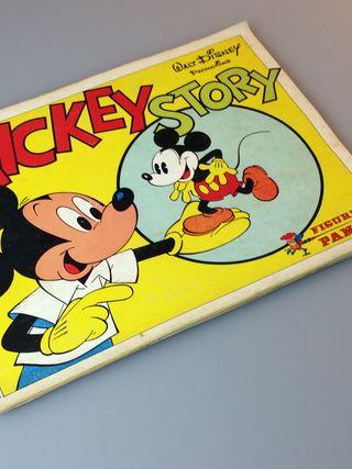 Mickey Story de Panini. Álbum de cromos.