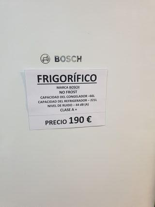 nevera combi no frost Bosch