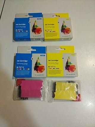 Pack tinta para impresora Epson