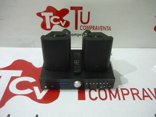 Amplificador Fonestar AS150R con altavoces