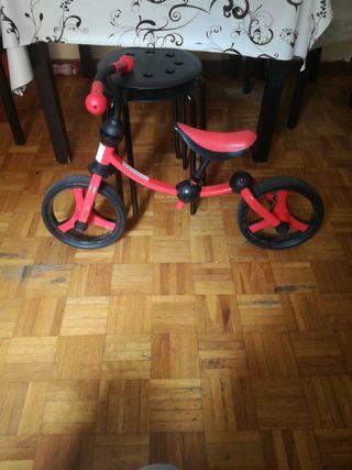 bicicleta sin pedales marca roll run