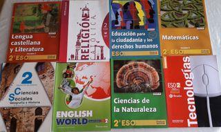 libros 2° E.S.O